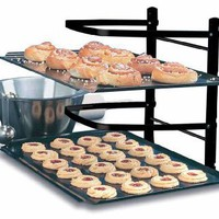 Linden Sweden Baker&#x27;s 4-Tier Adjustable Metal Cooling Rack