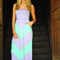 Get To The Point Maxi Dress: Mint | Hope's