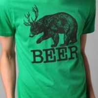 Local Celebrity Beer Deer Tee $24