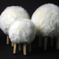 Sam Brown's Sheep Stools: Remodelista