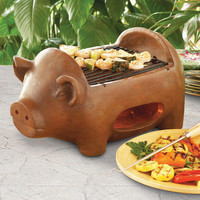 Pig Terracotta Grill | World Market