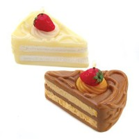 Amazon.com: Pastry Shop Chocolate Vanilla Cake Scent Figural Candle: Home & Kitchen