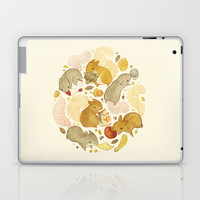 Things Squirrels Probably Shouldn't Be Eating Laptop & iPad Skin by Teagan White