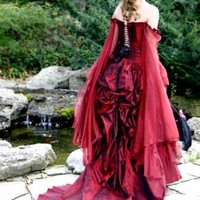 Mina Victorian Bustle Gown | TheSecretBoutique - Clothing on ArtFire