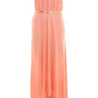 Coral Bandeau Dippy Maxi - View All - Dress Shop - Miss Selfridge US