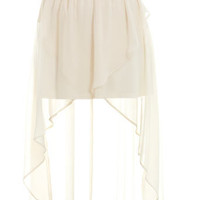 Petites Wrap Drop Back Skirt - Skirts - Apparel - Miss Selfridge US