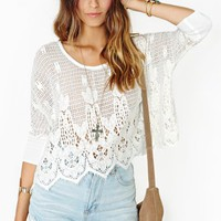 Desert Drive Crochet Top