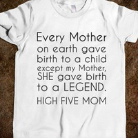 HIGH FIVE MOM TODDLER