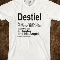 Destiel - Unicorn Seller - Skreened T-shirts, Organic Shirts, Hoodies, Kids Tees, Baby One-Pieces and Tote Bags