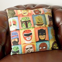 Heroes and Villains Cushion at Firebox.com