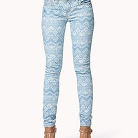 Life In Progress™ Southwestern Skinny Jeans | FOREVER 21 - 2041197872
