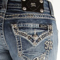 Miss Me Stud Straight Stretch Jean - Women's Jeans | Buckle