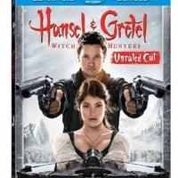 Hansel & Gretel: Witch Hunters (Unrated Cut) (Blu-ray / DVD )