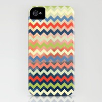 Watercolor Chevron iPhone Case by Jacqueline Maldonado | Society6