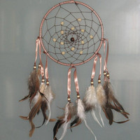 7 Brown dream catcher by CatchMyDreams on Etsy