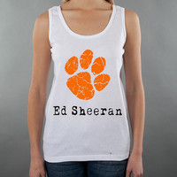 Ed Sheeran Paw Print Tank Top