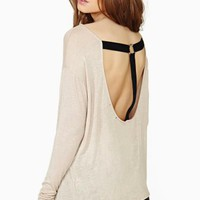 Harness Scoop Tee