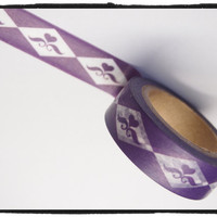 Washi tape - Purple Heart - 15mm Wide - 11 yards  WT416