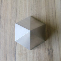 Orgone Aluminium Hexagonal Pyramid  Mold / Mould - Handmade