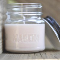 Pink Sugar Type Soy Candle 8oz Jar, Just In Time For Spring | Luulla