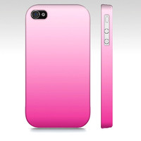 Pastel Pink Ombre - Premium Slim Fit Iphone 4 - Iphone 4s Case - Also Available For Iphone 5 and Samsung Galaxy S3