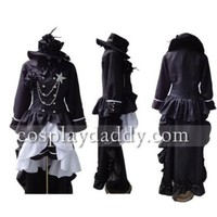 Black Butler Ciel Phantomhive Cosplay Costume Customized Any Size:Amazon:Toys & Games