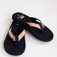 Womens Flip Flops: Bias Stripe Flip Flops for Women – Vineyard Vines