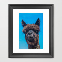 STRAW IS TRENDY Framed Art Print by catspaws