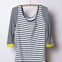 Anthropologie - Duostripe Tee