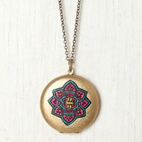 Free People Painted Locket