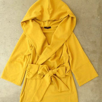 Mustard Cobblestone Jacket [2521] - $36.40 : Vintage Inspired Clothing & Affordable Summer Frocks, deloom | Modern. Vintage. Crafted.
