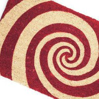 Dizzy Doormat ? spiral door mat by Gift Company - buy online