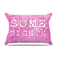 "Monika Strigel ""Some Nights"" Pillow Case 
