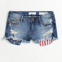 Bullhead Denim Co Flag Pocket Shorts at PacSun.com