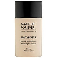 Sephora: MAKE UP FOR EVER : Mat Velvet + Matifying Foundation : foundation-face-makeup