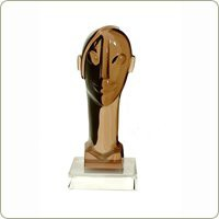 Nelo Head Statue | Sculptures - Haziza | B2  -  Table Art & Sculptures | Shop DapperFrog.com