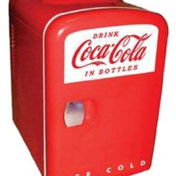 Koolatron KWC-4 Coca-Cola Personal 6-Can Mini Fridge:Amazon:Appliances