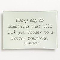 Ben's Garden 'Every Day do Something' Trinket Tray | Nordstrom