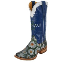 Tin Haul Daisy- 14 Top Cowgirl Boot