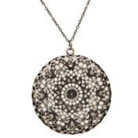 Hemitite Medallion Necklace