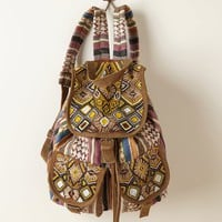 Beaded Otilda Backpack