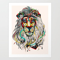 Lion Art Print by Felicia Atanasiu