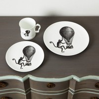 Monkey with Balloon Tableware