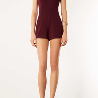High Neck Playsuit - Rompers - Topshop USA