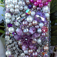 Lovely Lavender and Pearl iPhone 5 Case