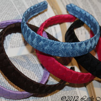 Multicolored Versatile Weaved Headbands for by LittleMadamtutu