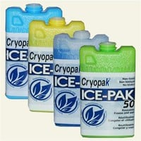 Cryopak Hard Shell Reusable Ice Pack, 3 x 5"