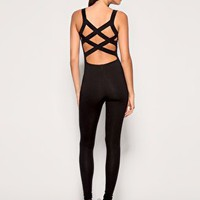 ASOS | ASOS Cross Back Unitard at ASOS