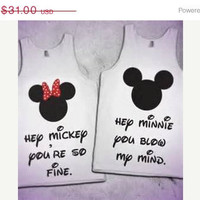 Sale US FREE SHIPPING Mickey and Minnie Couples by DsWishingWell