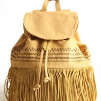 Before Sunset Fringe Backpack  : ThreadSence.com